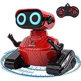 GILOBABY Jouet Robot Enfant,Jouet de Voiture Télécommandé , Mouvi Le Robot avec Yeux LED et Sonner, Cadeau Enfant 3 4 5 6 7 8