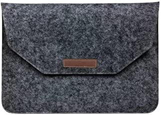 Oxyura™ 13.3 inch Felt Laptop Sleeve (Slate Grey)