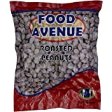 FOOD AVENUE Roasted Salted Peanuts Seeds (Bharuch Gujrat Special) Mungfali Dana Namkeen Vacuum Packing (500 GM)