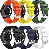 kytuwy Gear s3 Frontier Correa - 22mm Correa de Reloj Galaxy Watch 46mm Pulsera de Repuesto para Galaxy Watch 3 45mm/Gear s3