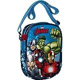 Star Licensing Marvel Avengers Tracolla 3D Borsa Messenger, Multicolore