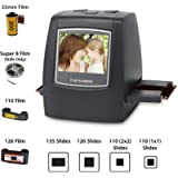 DIGITNOW! 22MP Film Scanner , Super 8 / 110 / 126 / 35mm Negativi e Diapositive Digitale Convertitore ,Foto Salva su…