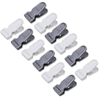 Viguni Clips for Clothes Plastic Pegs for Hanging Drying Clothing on Strings Multipurpose Heavy-Duty Pack of 12 Pieces