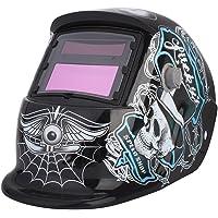 Automatik Schweißhelm,Solar Automatik Leopard-Schweißmaske Schutzhelm 9 13 Maske Automatische Verdunkelung Energie…