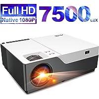 Artlii Performance Videoprojecteur Full HD - Stone, 1080P Natif retroprojecteur, Max 300'' projecteur, 280ANSI, Soutien 4K, compatible avec TV Stick, PS4, Switch, XBOX pour movies, jeu vidéo