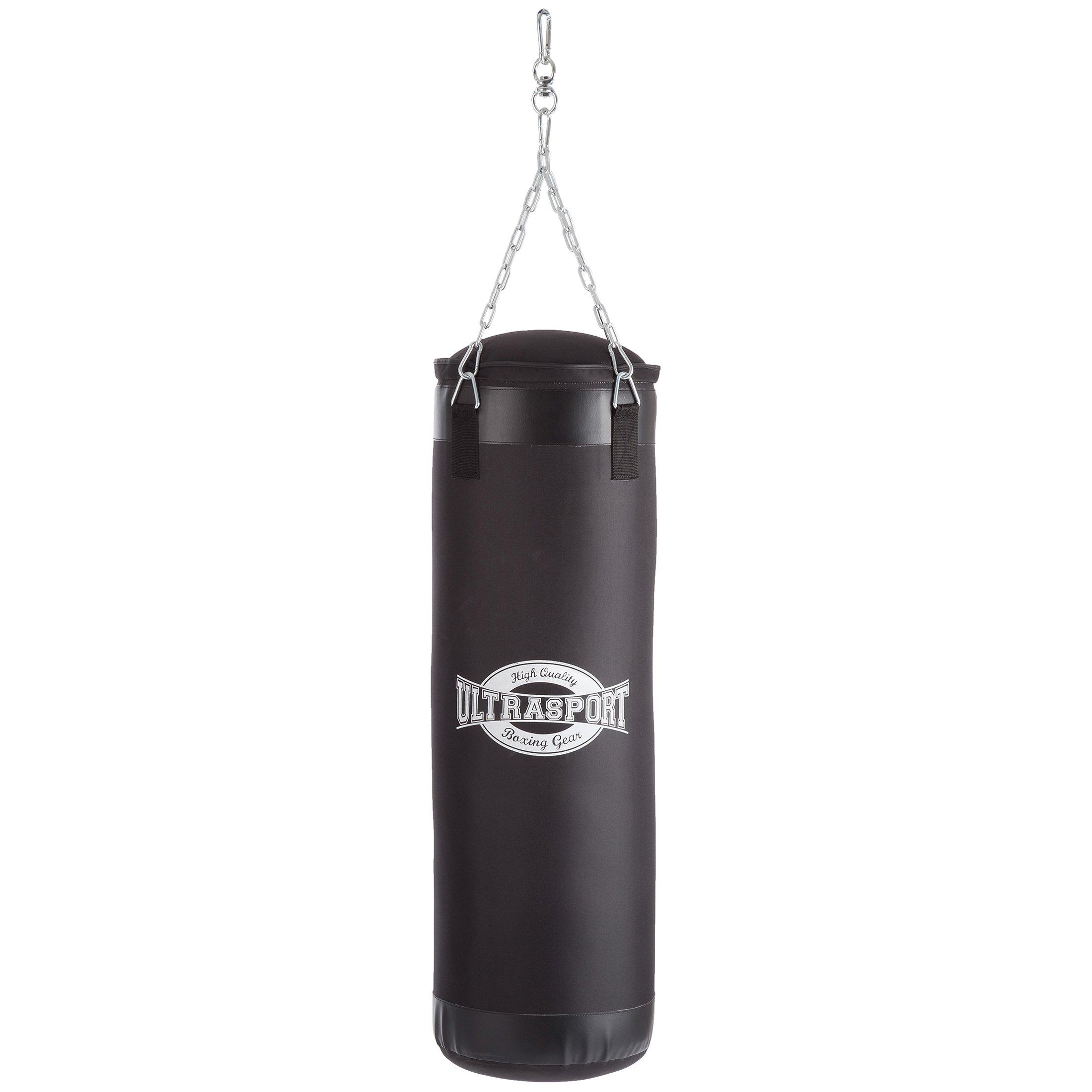 Boxsack Sandsack gef/üllt mit Kette 120 cm