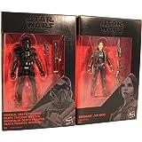 Star Wars - The Black Series 2-pack 9,5 cm actiefiguren voor de film, voor jongens, meisjes en fans (Jyn Erso und Death Troop