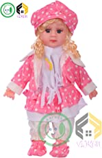Aarushi Girl Pink Baby Doll