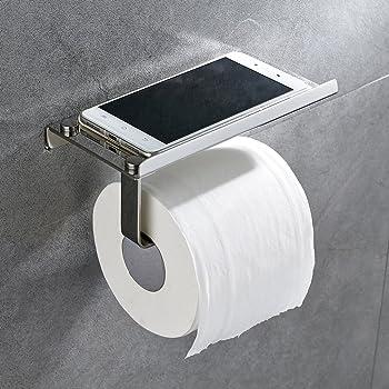 auralum wc toilettenpapierhalter papierhalter edelstahl. Black Bedroom Furniture Sets. Home Design Ideas