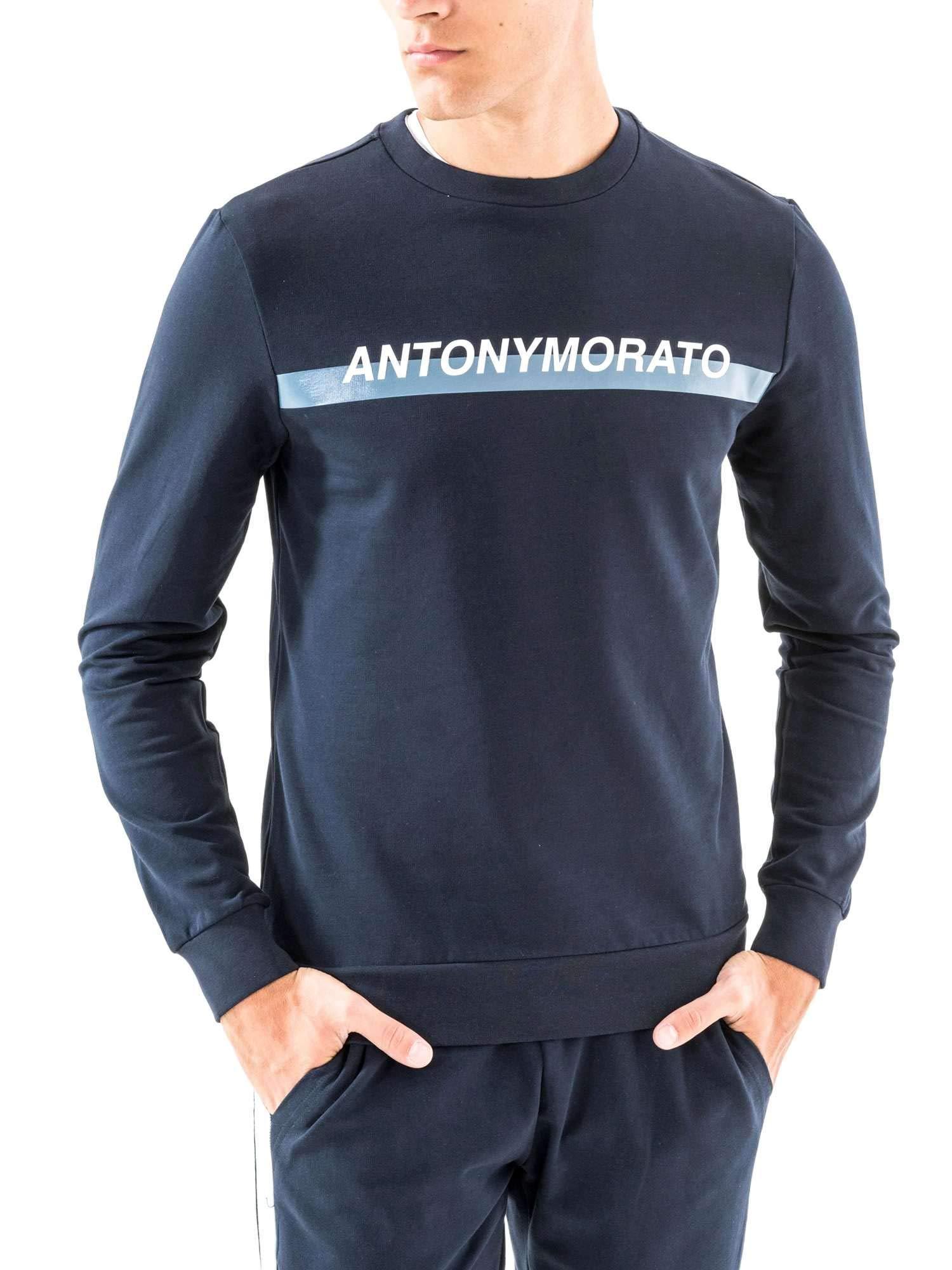 Antony Morato MMFL00454 FA150048 Sudadera Hombre Azul 3XL