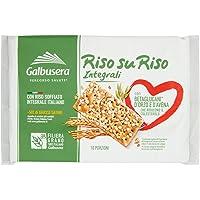 Galbusera Riso Su Riso, Cracker Integrali con Riso Soffiato, 380g