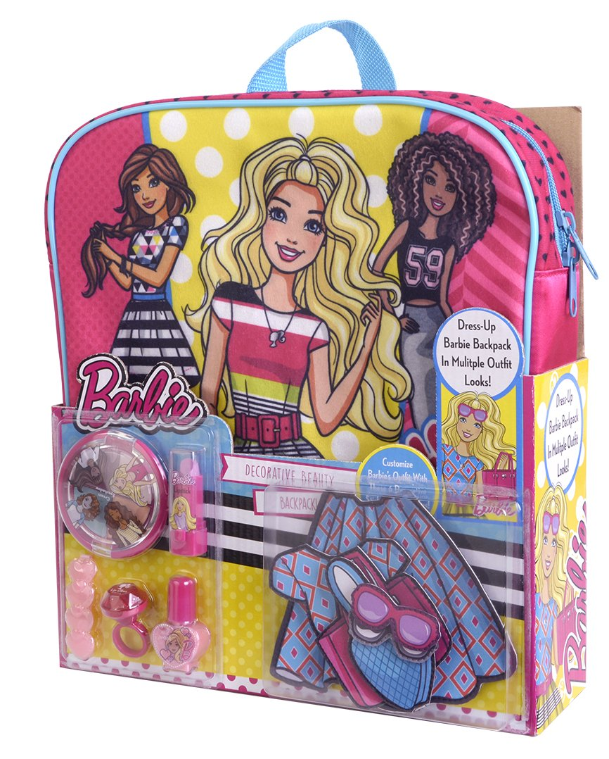 Barbie DIY Decorative Beauty Backpack