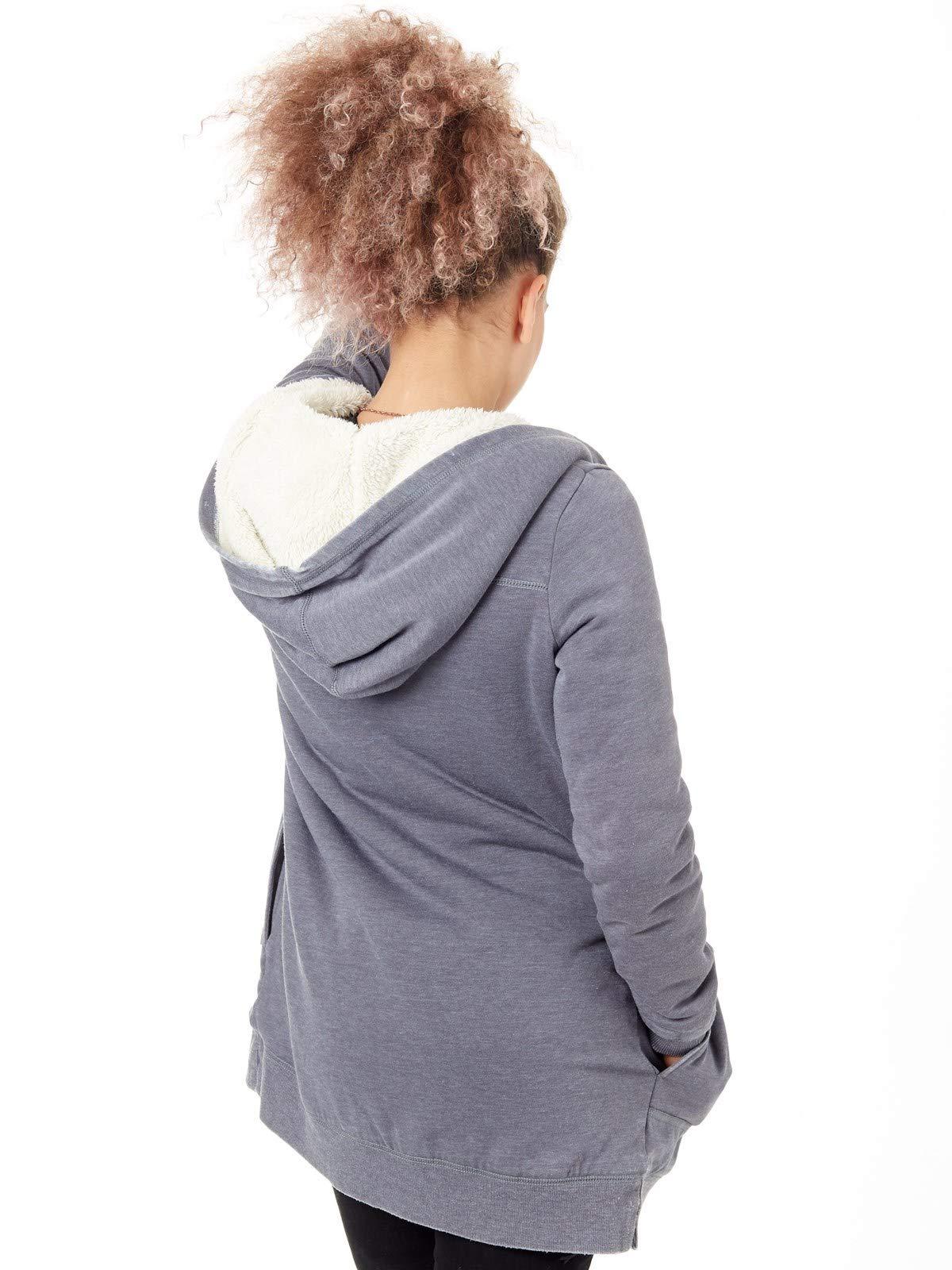 Roxy Destiny Calling – Sudadera Larga con Parte Frontal Abierta para Mujer