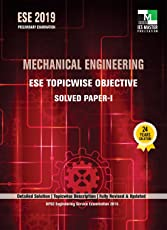 ESE 2019 : Mechanical Engineering ESE Topicwise Objective Solved Paper - 1