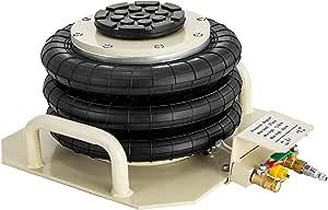 Vevor Pneumatischer Wagenheber 3t Air Jack 3 Ringe Druckluft Für Pkw Stahl 6600lbs Baumarkt