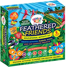 Genius Box Learning Toys for Children : Feathered Friends Activity Kit