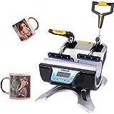 Presse À Chaud Pour Tasses 2 En 1 Presse Mug Sublimation 280 W 220 V Machine Transfert Mug 12,5 Cm De Hauteur Sublimation De