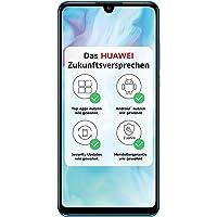 HUAWEI P30 lite Dual-SIM Smartphone Bundle (6,15 Zoll, 128 GB ROM, 4 GB RAM, Android 9.0) breathing crystal+ Micro SD…