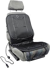Sitzheizung, beheizbare Sitz-Auflage 12V fürs Auto zum Nachrüsten, schnelle, angenehme Wärme, My SEAT Heater to GO, mit Wärmeregler und Thermostat, Das universal Heiz-Kissen ist schnell montiert