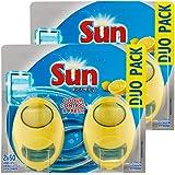 Sun Lufterfrischer für Spülmaschinen, Zitronenduft, 2 Stück