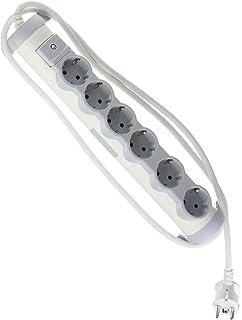 /Ultra plat Legrand 695015/Multiprise/ ; pour fixation au mur et table/ /Multiprise avec 3/prises 3/prises