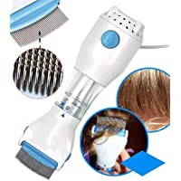 Simxen 240V Electrical Head Lice Comb Lice Solution Chemical Free Kills Head Lice Capture Lice Removal Treatment V-Comb…