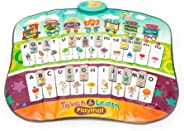 Popsugar Step-on and Dance with Educational Musical Carpet with Alphabets, Songs and Lights,