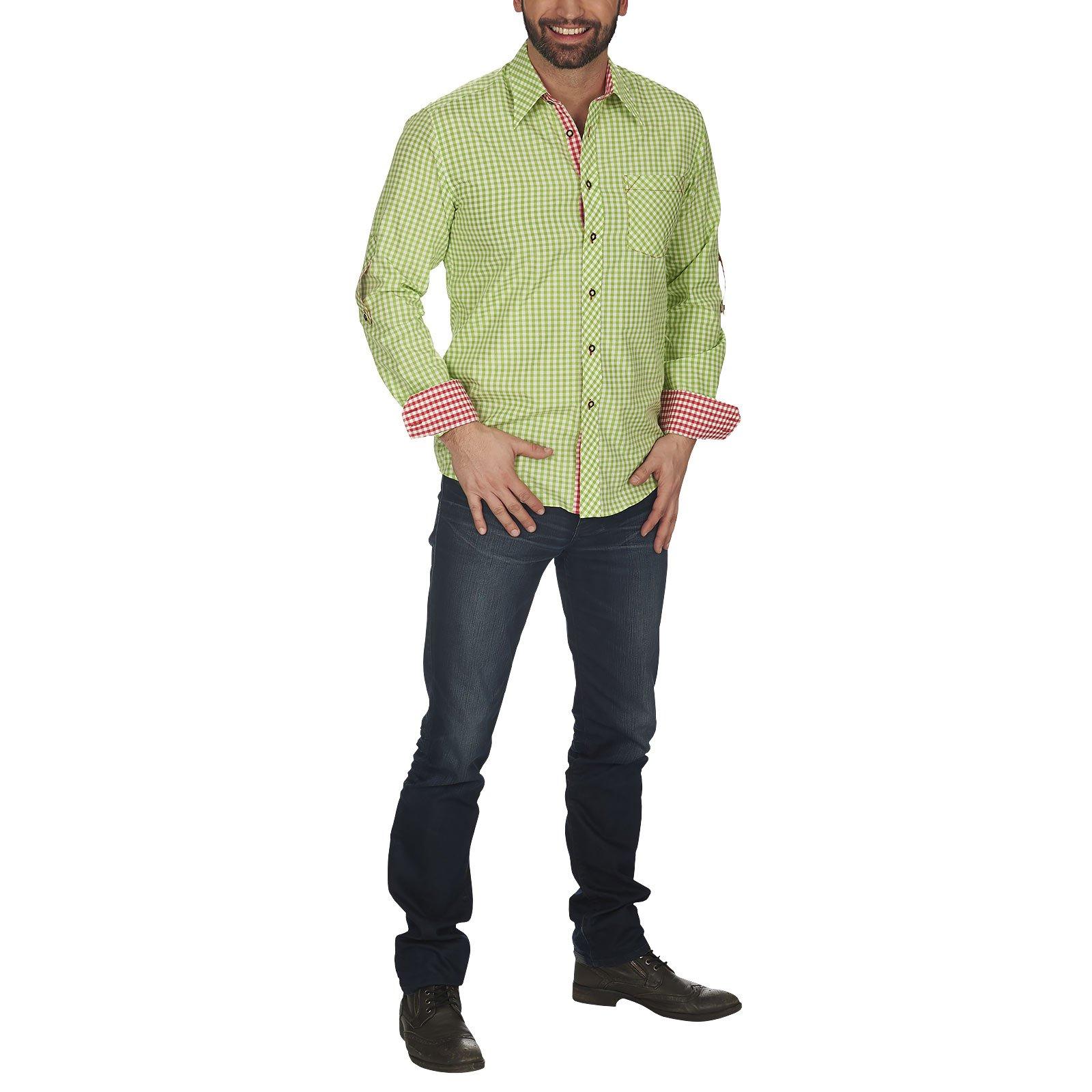 Camicia tradizionale - camicia da uomo per travestimento folcloristico - feste tradizionali e carnev