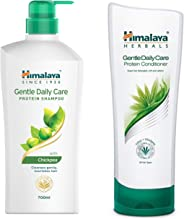 Himalaya Gentle Daily Care Protein Shampoo, 700ml & Herbals Protein Conditioner, 200ml Combo