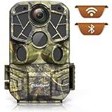 usogood Fototrappola 4K 24MP WiFi Bluetooth con App Fotocamera da Caccia Infrarossi Invisibili con Visione Notturna…