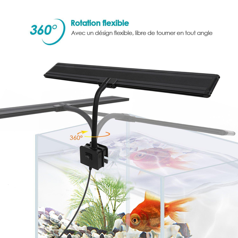 Lampe 80cm À 5730smd 60led Amzdeal Clip Pour 50 AquariumÉclairage tsdQrChxBo