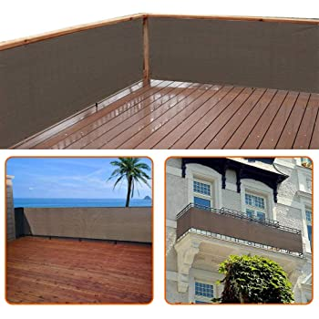 Amazon De Empasa Balkon Sichtschutz Windschutz Balkonverkleidung