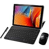 Tablet 10 Pulgadas YOTOPT, 4GB de RAM y 64 GB de Memoria, Android 9.0 Dobles SIM y TF, GPS WiFi Soporte (Negro)