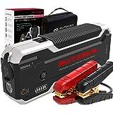AUTOGEN Avviatore Batteria Auto, 3000A 24000mAh(10.0L Benzina& Diesel), 12V Avviatore di Emergenza, caricatore USB 3.0 a rica