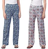 LADY WILLINGTON Womens Track Pant Lower Cotton Printed Payjama/Lounge Wear –Soft Cotton Night Wear/Pyjama for Women…