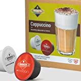 Barista Italiano - Cappuccino   80 Capsules Compatibles Dolce Gusto (Cappuccino, 80 Capsules, 40 Portions)