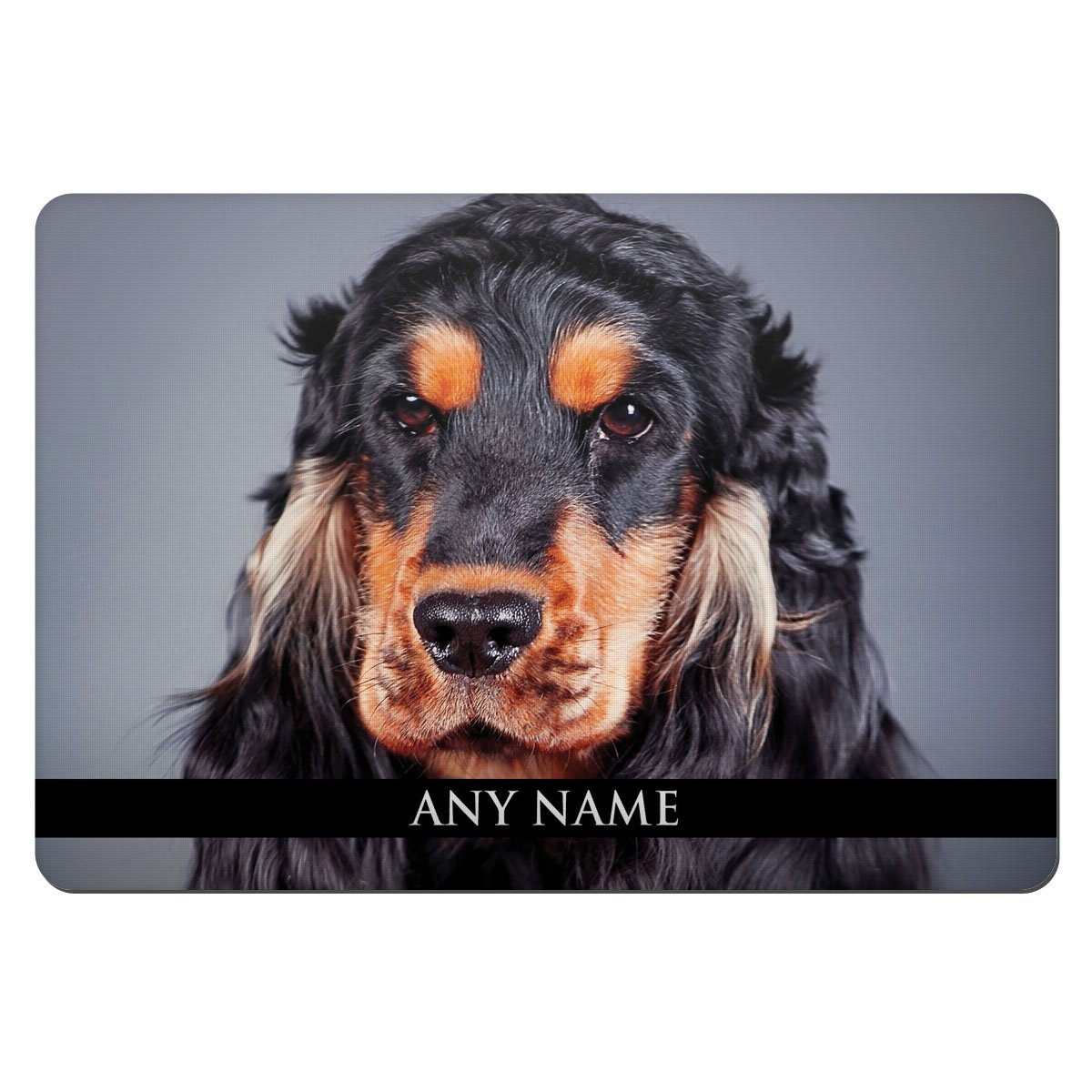 Personalised English Cocker Spaniel Animal Pet Bowl Feeding Mat 114
