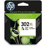 1x Original XL HP Tintenpatrone F6U67AE HP 302XL HP 302 XL für HP Officejet 4650 - Color - Leistung: ca. 330 Seiten/5%