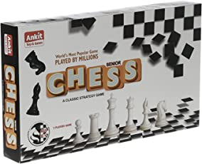 NHR Ankit's Classic Chess Board Game (Multicolour, A_Chess)