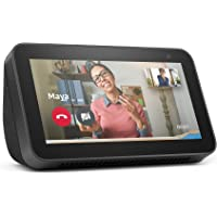 All-new Echo Show 5 | 2nd generation (2021 release), smart display with Alexa and 2 MP camera | Charcoal