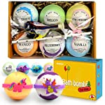 Bath Bombs for Kids with Surprised Toys Inside , Lush Kids Bath Bombs, Great Birthday Gifts for Girls & Boys, Natural...