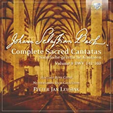 J.S. Bach: Complete Sacred Cantatas Vol. 08, BWV 141-160