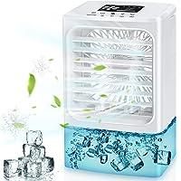 Climatiseur Portable, 2021 Dernière Climatiseur Mobile, 4 en 1 Refroidisseur d'air Ventilateur Humidificateur…