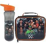 WWE Bolsa de almuerzo y conjunto de botellas de agua Luchando con contenedor Un tamaño