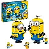 Lego 75551 Minions Minions figurbyggnadsset med gömställ, leksaker för barn från 8 år med figurer: Stuart, Kevin & Bob