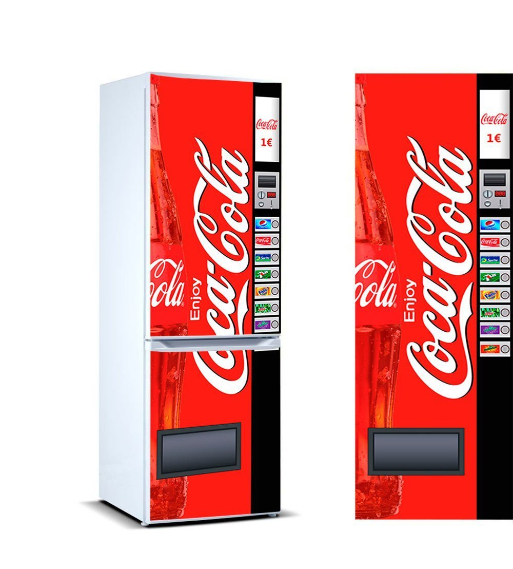 Amazon.de: Vinyl kühlen Cocacola | 185cm(breite) x 60cm(groß ...