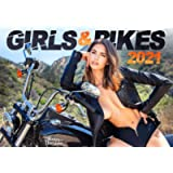 Girls and Bikes: The Sexy 2021 Motorbikes Calendar