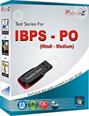 150 Test Papers, 10 All India Mock tests for IBPS PO Exam (Pen Drive, Medium: Hindi)