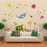 ملصقات جدران بشكل الرسوم المتحركة