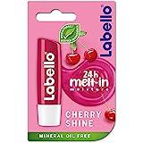 LABELLO Lip Balm, Cherry Shine, 4.8g
